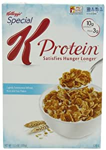 Special K Cereal, Protein 13.5-Ounce Boxes (Pack of 4)