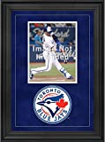 """Sports Memorabilia Toronto Blue Jays Deluxe 8"""" x 10"""" Vertical Photograph Frame with Team Logo - Baseball Other Display Cases"""