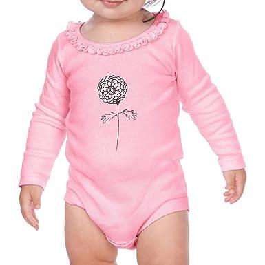 dfa49c8dc Amazon.com  Marigold Silhouette Light Pink Long Sleeve Girl Baby ...