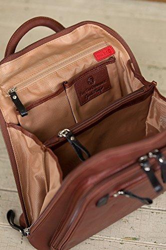 Macy Leather Backpack Purse by Overland Sheepskin Co (Image #8)