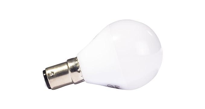 Liteway 5 W SBC B15d bombilla LED pelota de golf, 40 W de repuesto tradicional