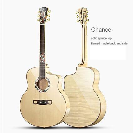 Guitarra acústica 42 pulgadas GJ tamaño Mano artesanal guitarra de ...