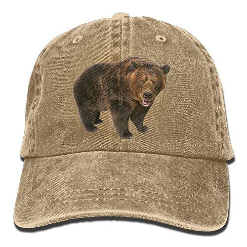 Thevictory Cowboy Hat Cap for Men Women Montana Symbolic Grizzly Bear Multicolored214