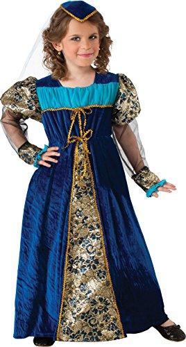 Rubie's Camelot Princess Costume, Blue, Child's Large]()