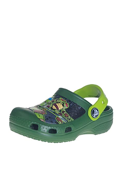 4bd89a5602d crocs CC TMNT Clog (Toddler/Little Kid/Big Kid),Seaweed/Volt Green,6 M US  Little Kid: Amazon.ca: Shoes & Handbags