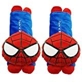 Mykubi Spider Man Cute Cartoon Automotive Vehicle Car Safety Seatbelt Cover Soft Plush Padded Seat