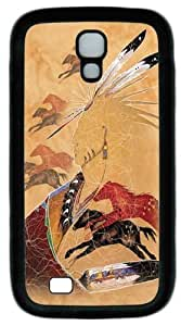 Cool Painting Horse Vision PC Silicone Case Cover for Samsung Galaxy S4/I9500