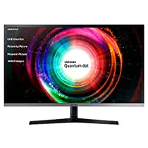 Samsung U32H850 Monitor Professionale 32'' 4K Ultra HD, 3840 x 2160, Quantum Dot, 60 Hz, 4 ms, 2 HDMI, 1 Display Port, 1 mini Display Port, Regolabile in Altezza, Nero