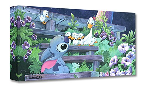 (Disney Fine Art Family Blossoms - Treasures on Canvas 10 x 20 Gallery Wrapped Canvas Wall Art by Michelle St. Laurent )
