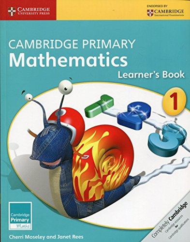 Cambridge Primary Mathematics Stage 1 Learner's Book (Cambridge Primary Maths) ()