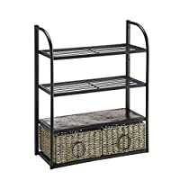 4D Concepts Windsor Storage Unit with Two Baskets