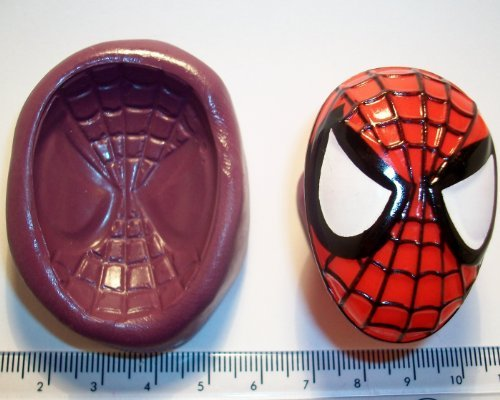 Silicone Mould Spiderman Icing Cake Cupcake Decoration