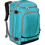 """eBags TLS Mother Lode Weekender Convertible Carry-On Travel Backpack - Fits 19"""" Laptop - (Tropical Turquoise)"""