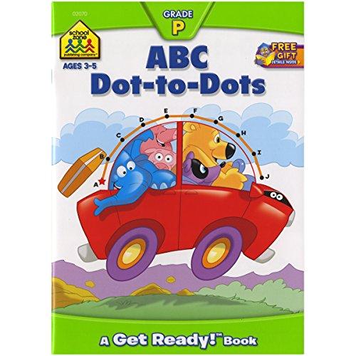Preschool Workbooks 32 Pages-ABC Dot-to-Dot Dot Alphabet