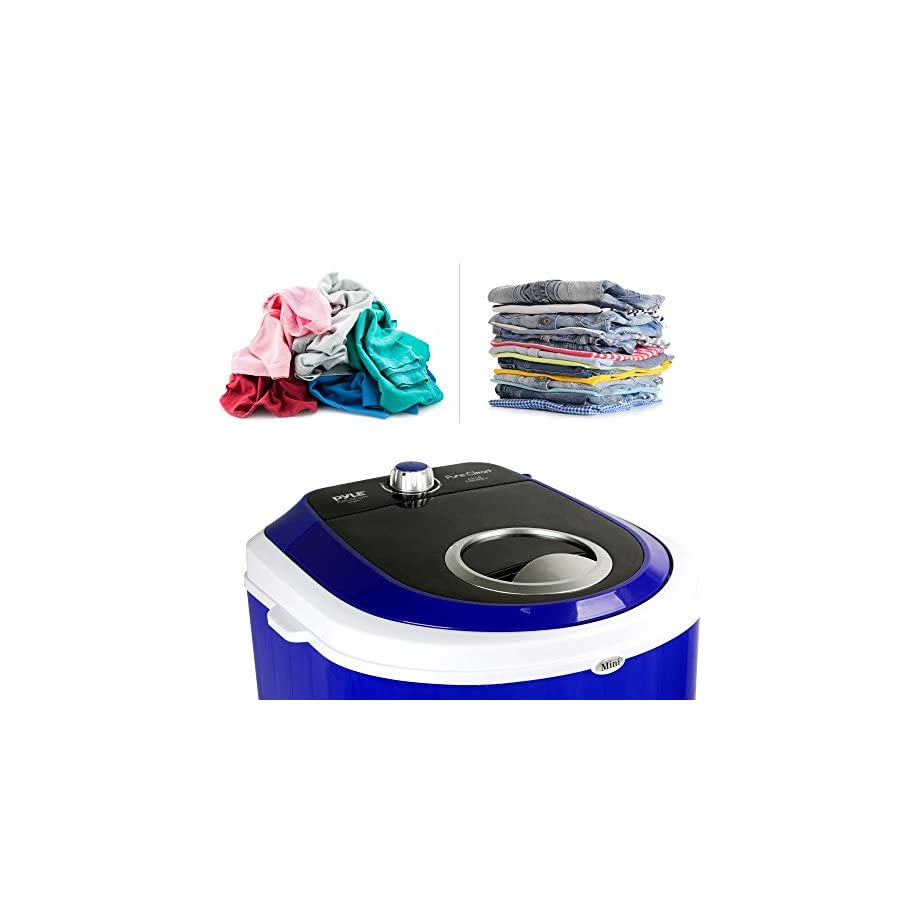 Pyle Home(r) Pucwm11 Compact & Portable Washing Machine