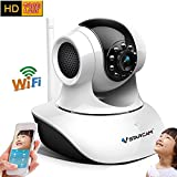 Vstarcam C7835WIP P2P HD 720P Wireless WIFI IP Camera Night Vision Two-way Voice Network Indoor CCTV Onvif Multi-stream Baby Monitor Mobile Phone Remote Monitoring (Maximum support 128G TF Card)