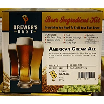 Brewer's Best BIK-1011 American Cream Ale Homebrew Beer Ingredient Kit