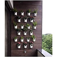 Planters Blume Prism Indoor and Outdoor Wall Hanging Planter -Pack of 12