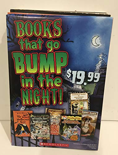 Books That Go Bump In The Night! 6 Books collection -