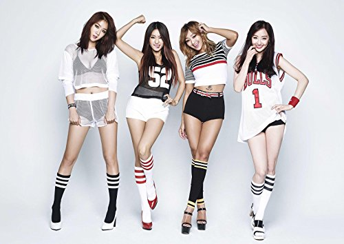 Fanstown Sistar Poster A3 size thicken coated paper 28cm x42cm good quality