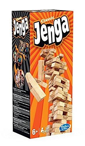 Amazoncom Hasbro A2120e24 Jenga Classic Kin Toys Games