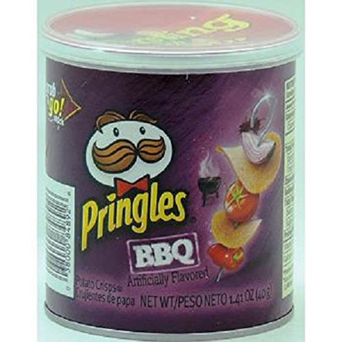 Product Of Pringles, Bbq - Small, Count 1 - Chips / Grab Varieties & Flavors by Product Of Pringles (Image #1)