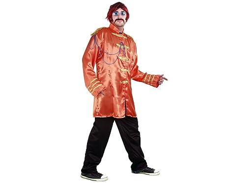 Disfraz de estrella pop naranja: Amazon.es: Ropa y accesorios
