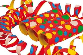 15m NEU Riesen-Luftschlangen bunt Party Dekoration flammensicher