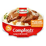 Hormel Compleats Roast Beef and Mashed Potatoes with Gravy, 9 Ounce (Pack of 6)