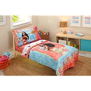 Disney Moana Toddler 4 Piece Bedding Set 11