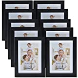 4x6 picture frames - Giftgarden Friends 4x6 Picture Frame for Wall Decor Photo 6x4, Set 10 pcs