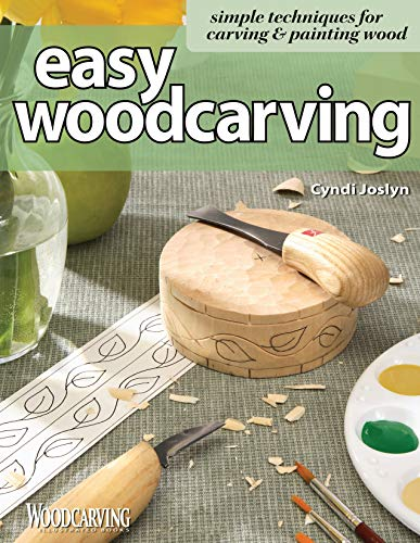 Easy Woodcarving, by Cindi Joslyn, Softcover, 140 Pages (Best Wood For Carving Uk)