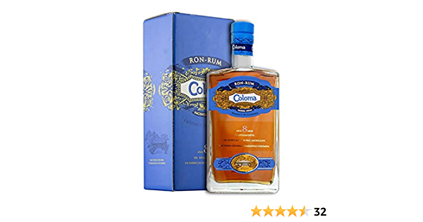 Coloma 8 Years Old Rum in Gift Box - 700 ml