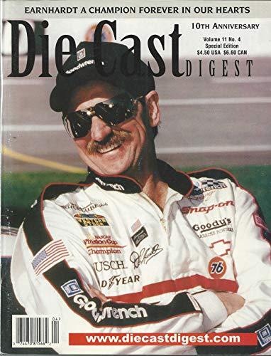 Die Cast Digest 10th Ann. Volume 11 No. 4 Dale Earnhardt Sr.