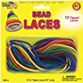 Pepperell Creative Beading Cords, 45-Inch, Assorted Colors, 12 Per Package from Notions - In Network