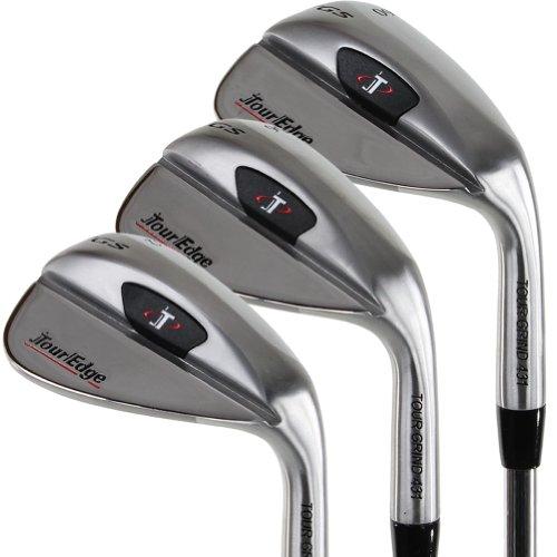 (Tour Edge Golf TGS 3-Piece Wedge Set (52/56/60 Approach, Sand & Lob - New)