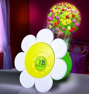 Amazon Com Discovery Kids Daisy Bloom Projection Alarm