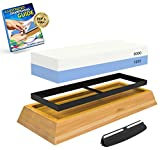 Best Sharpener Stone For Knives - Whetstone: 2-Sided Professional Grade Knife Sharpening Stone Review