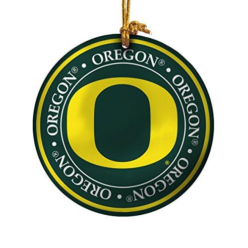 (NCAA Oregon Ducks Ceramic Plate Ornament)