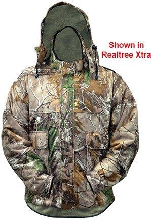 Rivers West Ambush Jacket (Mossy Oak Country, Medium) Big Game Microfleece Jacket