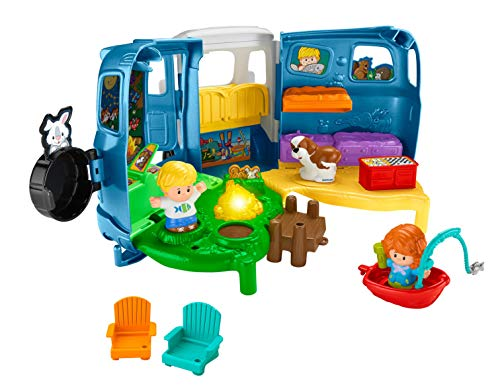513%2BZ4nDNAL - Fisher-Price Little People Songs & Sounds Camper