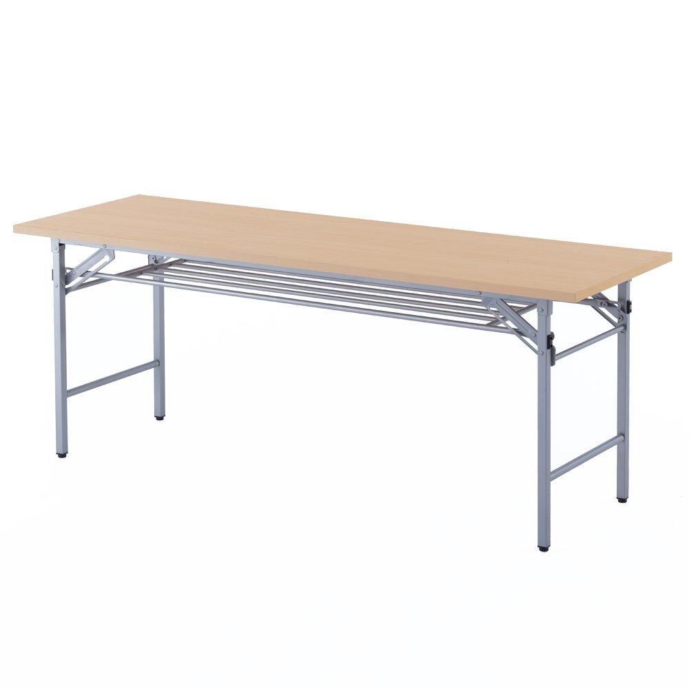 【在庫限り】折りたたみテーブル W1800xD600 / メープル SFT-1860Mアールエフヤマカワ RFyamakawa スタッキング スタックテーブル 会議室 ミーティング 打ち合わせ 机 日本製 B01HNFWUUW