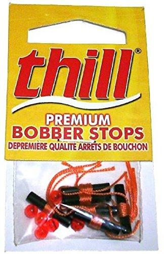 Thill Floats Premium Bobber Stops Fluorescent Yellow BS040