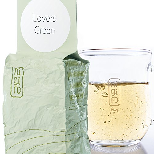 Sencha Green Tea with Rose Petals, Passion Fruit & Flowers (50 cups/3.5oz) | Lovers Green | Low Caffeine | Unique Loose Tea Leaf Blend