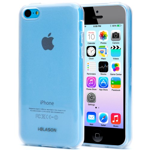 i-Blason iPhone 5c Case, SoftGel Flexible TPU Case AT&T Verizon Sprint T-Mobile and All Carriers for Apple iPhone 5C (Frost Clear)