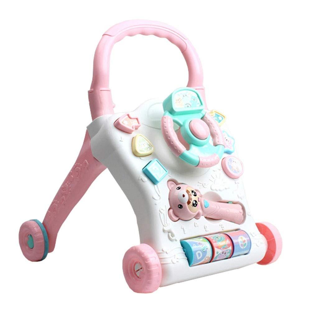 Andador Baby Walker Cart 0-2 años Multifunción Aprendizaje ...