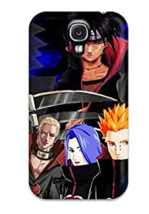 Galaxy S4 Akatsuki Tpu Silicone Gel Case Cover. Fits Galaxy S4