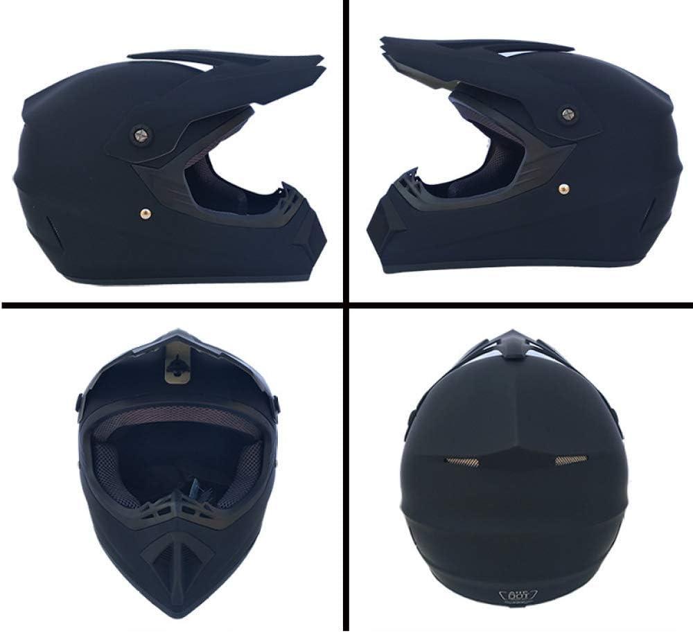 LIUBOLI Motocross Helmet//Adult Full Face Off Road Helmet With Gloves Mask Glasses//DOT Certified Racing Helmet City//ATV Helmet//for Men Womens//4 PCS,Style1-S