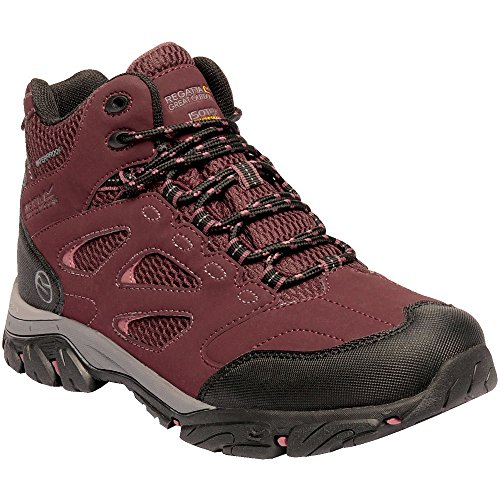 Rise Holcombe Hiking Regatta Boots Women's High 173 Red Iep Burgundy Mid 7fTwqX