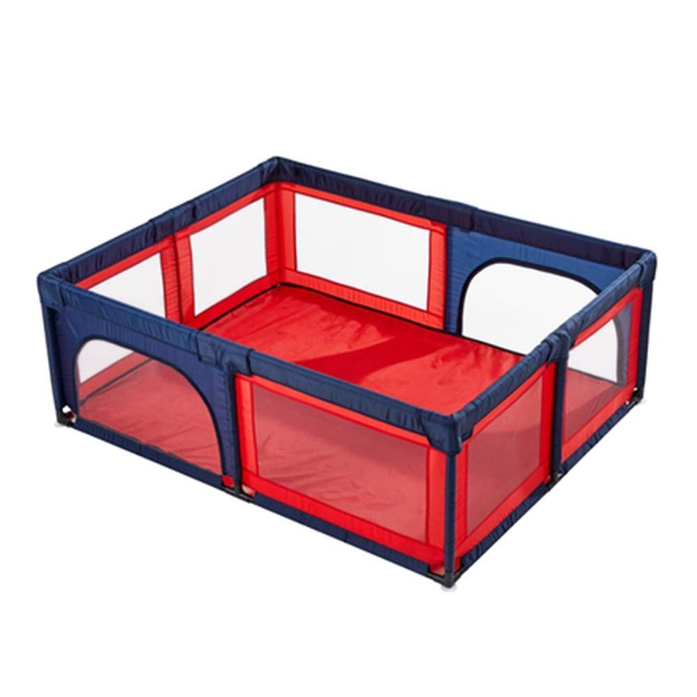 [定休日以外毎日出荷中] 赤ちゃんのベビーサークル安全プレイセンターヤード家庭用屋内屋外ベビーサークル用男の子女の子 - 150×190CM (色 : - Red+blue) Red+blue) Red+blue 150×190CM B07QSQ9M4N, ブランドバッグ雑貨CELEBRITY:73fe4889 --- a0267596.xsph.ru